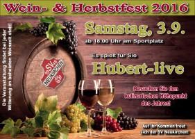 Flyer Weinfest 2016